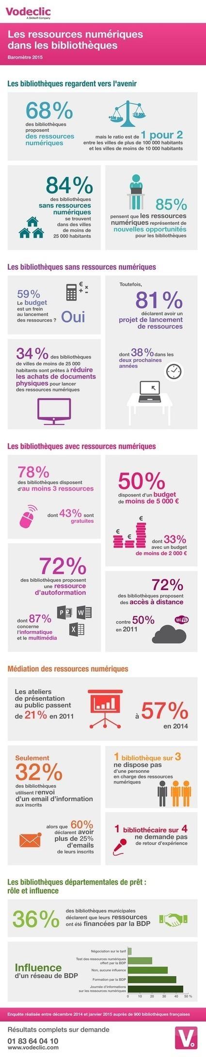 Enquête sur les ressources numériques en bibliothèques | Bulletin des bibliothèques de France | NUMERIQUE ET DOCUMENTATION | Scoop.it