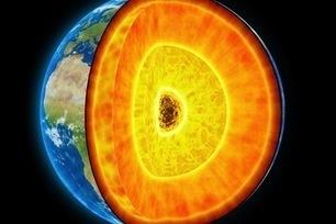 Core Finding: Earth's Frozen Center Formed a Billion Years Ago   Geology   Scoop.it