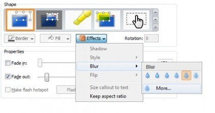 Camtasia Studio: Blur Sensitive Information in a Video - Tech-Recipes | Techy Stuff | Scoop.it