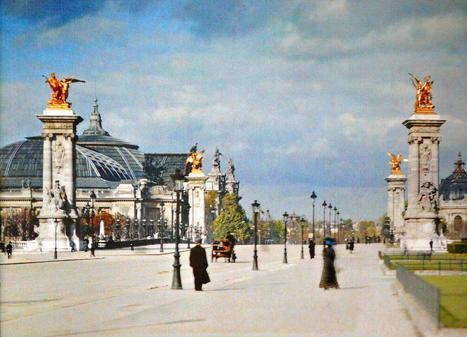 Photos de Paris en couleur en 1900 | Nos Racines | Scoop.it