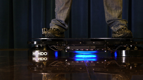Watch a Flying Hoverboard: Will We Soon Be Levitating? | Heron | Scoop.it