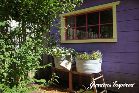 Vintage wash stand planters | Upcycled Garden Style | Scoop.it