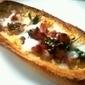 Pão gratinado com ovo, bacon e salsa | Foodies | Scoop.it