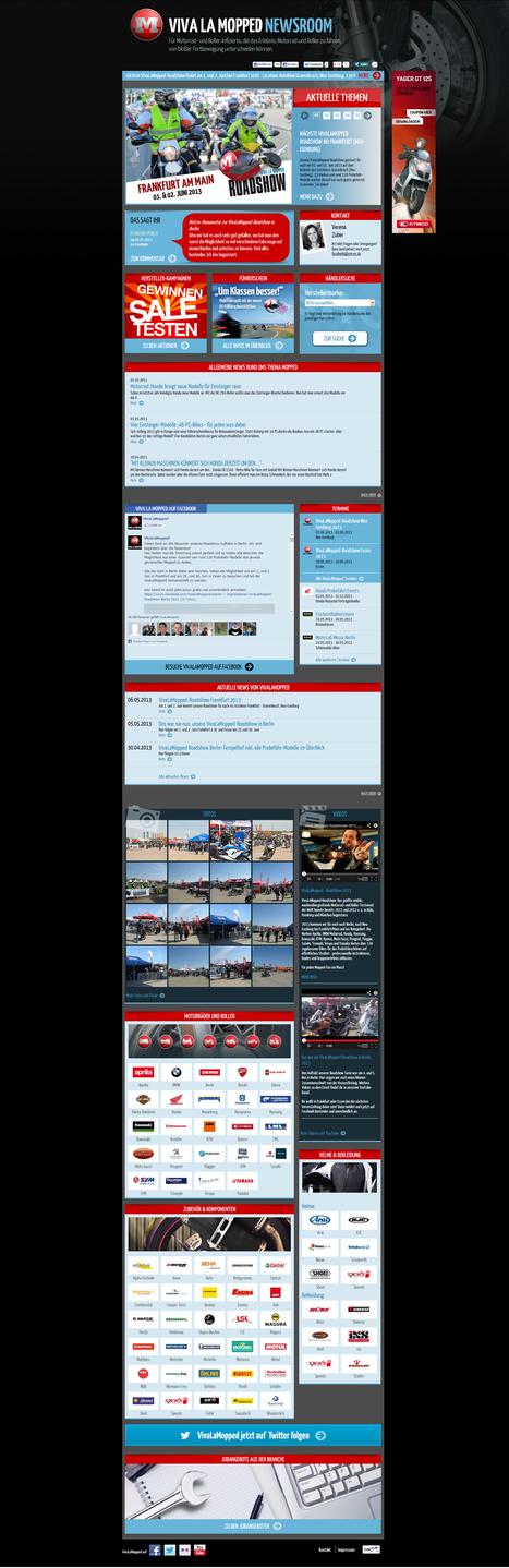 Viva La Mopped Newsroom   Social Media Newsrooms   Scoop.it
