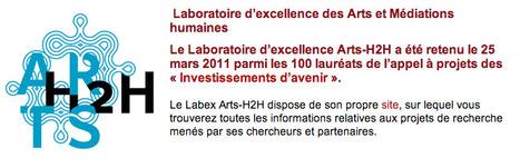 Labex Arts H2H du  LABORATOIRE D'EXCELLENCE DES ARTS ET MÉDIATIONS HUMAINE | Participation culturelle | Scoop.it