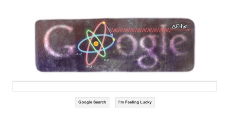 Niels Bohr's 127th birthday marked by Google doodle | NDTV Gadgets | The Cosmos | Scoop.it