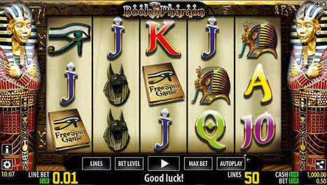 Το φρουτάκι Book of Pharaon στο Bet8 Casino | ellinika Online Casino | Scoop.it