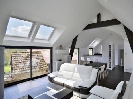 Une grange alsacienne transformée en habitation contemporaine | Dans l'actu | Doc' ESTP | Scoop.it