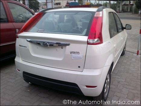 Mahindra Verito Vibe hatchback begins arriving at dealerships - Indian Cars Bikes | Indian Cars | Scoop.it