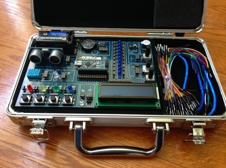 Kickstarter Alert: ArduinoKit Jr. Electronics and Programming Training - GeekDad | Raspberry Pi | Scoop.it
