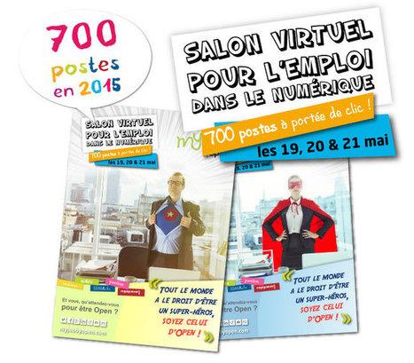 MyJOBbyOpen, le Salon Virtuel pour l'Emploi dans le Numérique by Open ! RDV les 19, 20 & 21 mai 2015 | Going social | Scoop.it