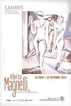 Cannes Exhibition Honours Florentine Painter Alberto Magnelli - Riviera Buzz   Curating the Curatable   Scoop.it