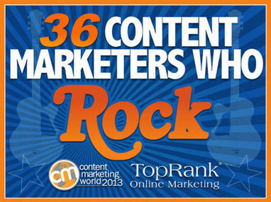 36 Content Marketing Tips from Major Brands & Content Rock Stars #CMWorld | Search Engine Optimization | Scoop.it