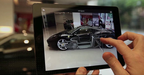 Ferrari's Latest AR App Lets You Virtually Design Your Car | Augmented Reality | Scoop.it