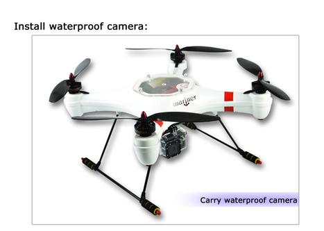 Mariner Drone waterproof quadcopter FPV version | Smart Mobile POS | Scoop.it
