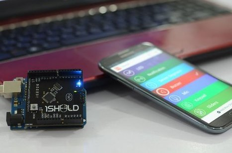 1Sheeld Arduino Shield Leverages Your Android Smartphone Hardware | Raspberry Pi | Scoop.it