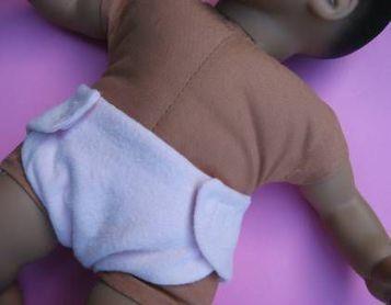 Como hacer un pañal para muñecos de juguete | Tejidos | Scoop.it