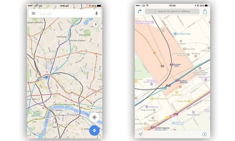 Apple Maps Used 3 Times More Than Google Maps On iOS Devices | Sports | Scoop.it
