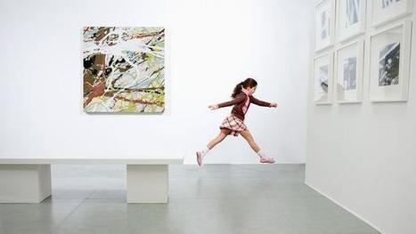 Should children run wild in art galleries and museums? | Research in Education | Scoop.it