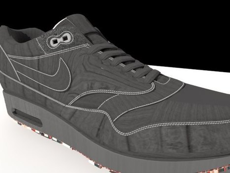 'Nike Air Max - Low Poly' by hiepvotinh - 3D Model   Interactive tools & reference   Scoop.it