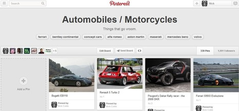 Pinterest Boards and Search Results Pages Updated With Tag Navigation | Inbound Marketing & Social Media News | Scoop.it