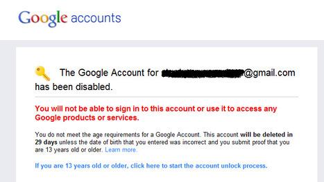 Moins de 13 ans ? Attention avec Google+ | Korben | Adopter Google+ | Scoop.it