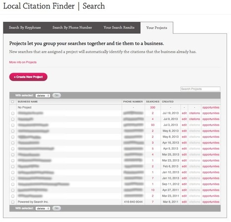 The Ultimate Guide to Whitespark's Local Citation Finder | Online Marketing Resources | Scoop.it