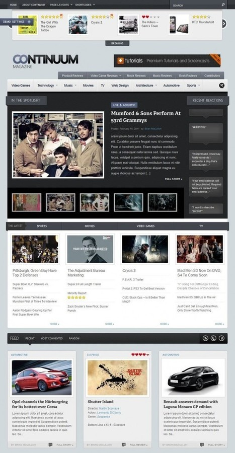 TF Continuum – Magazine - Wordpress Themes | Best Free Premium Blogger Templates SEO Friendly, WordPress, Website 2013 | Themes All Free Download | ads-blogspot-com-2013-06-2013-cnebac2013taalim | Scoop.it
