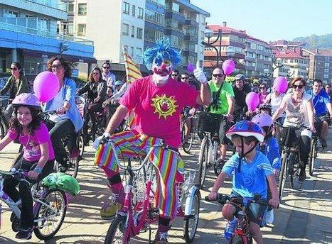 Zarautz se vuelca con Aspanogi en el Mobi Bike Eguna - Diario Vasco   Nik Tri elkartea   Scoop.it