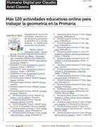 Mas 120 Actividades Educativas Online Para Trabajar La Geometria en La Primaria   Mi educación para tí   Scoop.it