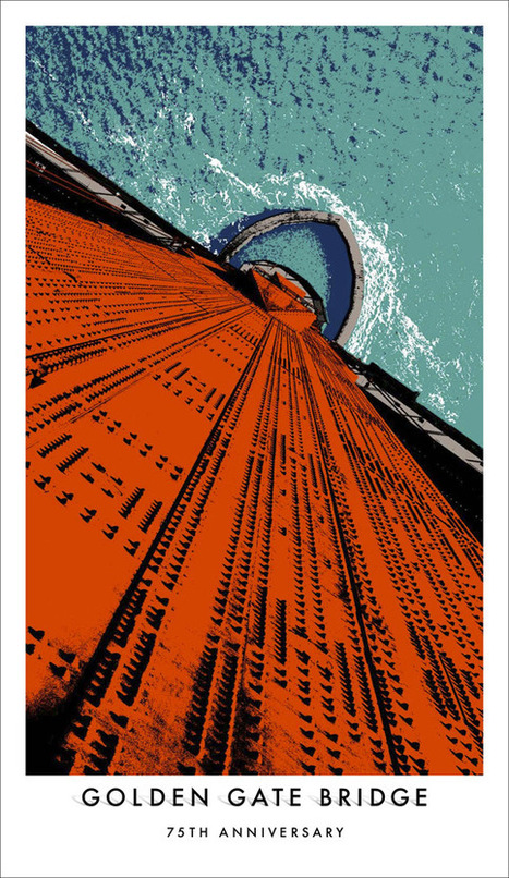 Golden Gate Bridge 75th anniversary posters | Compelling Selling | Scoop.it