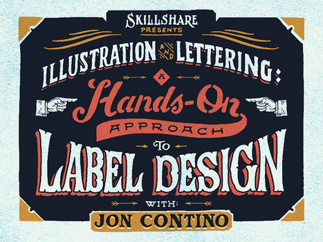 Illustration and Lettering: A Hands-on Approach to Label Design | Artdictive Habits : Sustainable Lifestyle | Scoop.it
