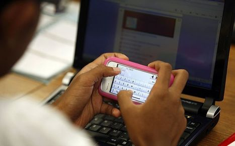 Texting-in-class program gets thumbs-up from teachers & students | Technology | Scoop.it
