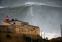 Surf's Way Up: Garrett McNamara Claims to Ride Record Wave in Portugal - TIME | surf | Scoop.it