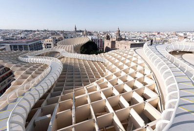 Metropol Parasol by J. Mayer H. Architects   Architecture on the world   Scoop.it