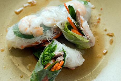 Vietnamese Summer Rolls Recipe | recipes | Scoop.it