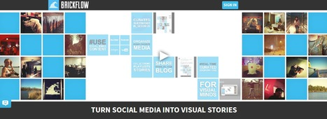 Curated Visual Storytelling with Brickflow | SocialMedia | Scoop.it