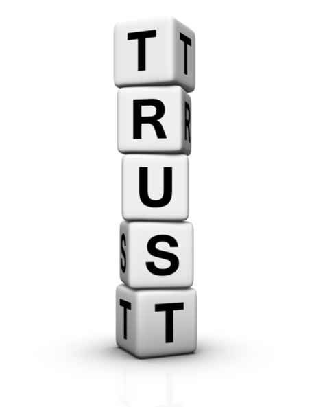 Trust is... | Beautiful organizations | Scoop.it