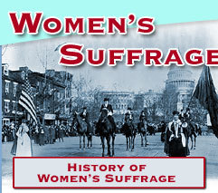 Women's Suffrage | Scholastic.com | Womens' Suffrage and 19th Ammendment | Scoop.it