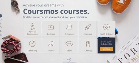 Coursmos - Online short courses for generation distracted (Mobile Platform) | computer training | Scoop.it