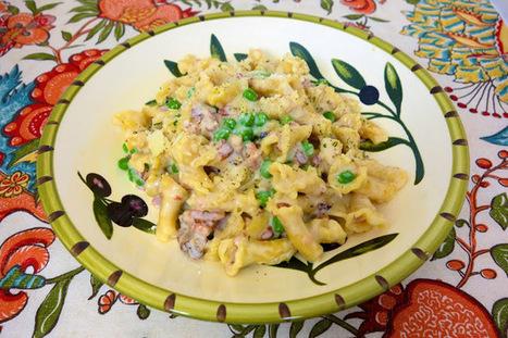 Creamy Bacon Pasta {No Boil} | Plain Chicken | Cocina y alimentos | Scoop.it
