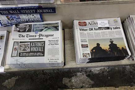 A year after daily publication ceased in Alabama and New Orleans, media market is 'fractured' | Poynter. | News on News | Scoop.it