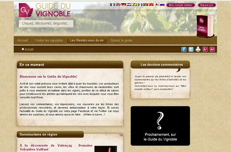 Oenotourisme : infos, bons plans et idées séjours sur le Guide du Vignoble   Oenotourisme   Scoop.it