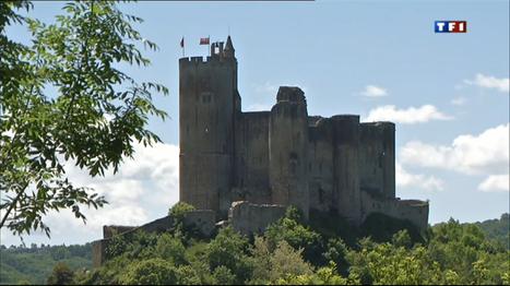 TF1 : Le journal de 13h - Châteaux-forts : la forteresse de Najac | L'info tourisme en Aveyron | Scoop.it