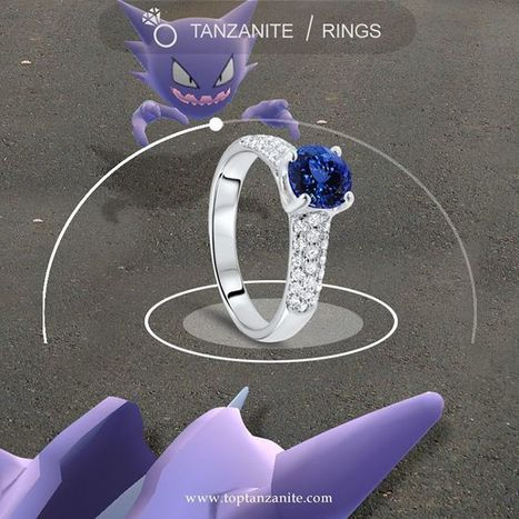 Are you following the PokemonGo crazy? | Tanzanite Rings | Scoop.it