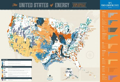 Data Visualization: Explore the United States of Energy | green infographics | Scoop.it
