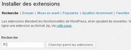 Installer un plugin sous WordPress | Calliope IT | Web dev and more | Scoop.it
