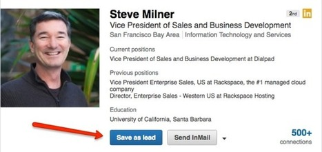 My 3 Favorite LinkedIn Sales Navigator Features | Social Enablement and Engagement Story Pipeline | Scoop.it