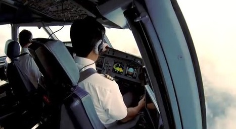 Stunning GoPro video of what passengers don't see when flying an Airbus 340 | rolamento | Scoop.it