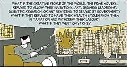 Webcomic Biography: Ayn Rand | Rockstar Research | Scoop.it